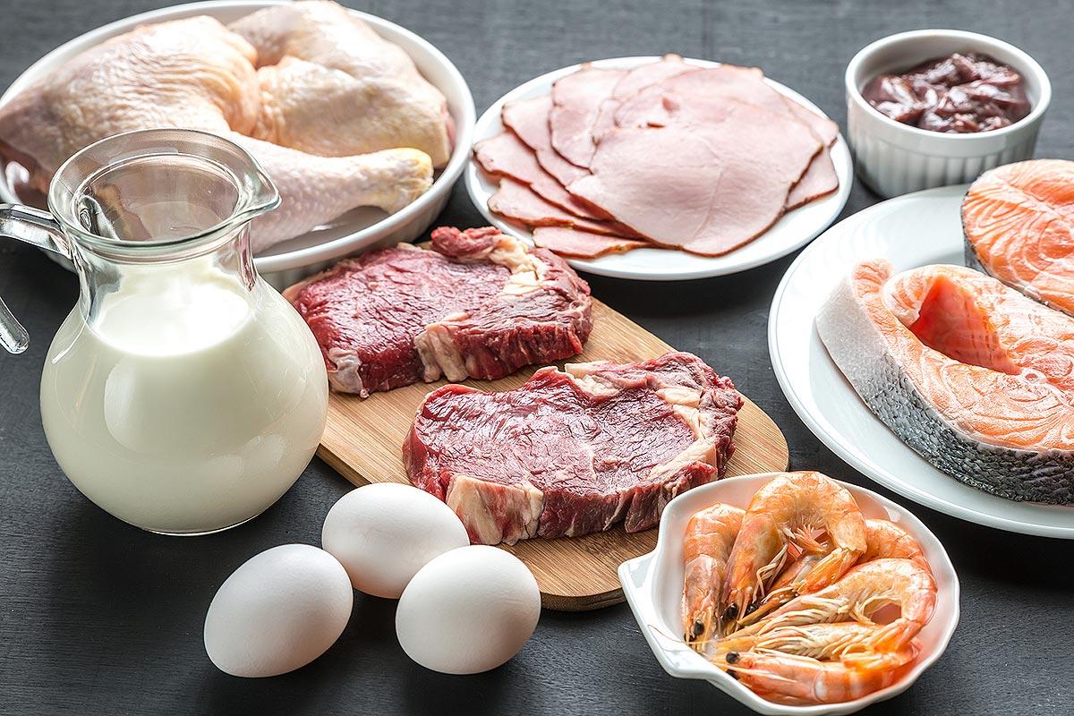 Продукты без глютена: мясо