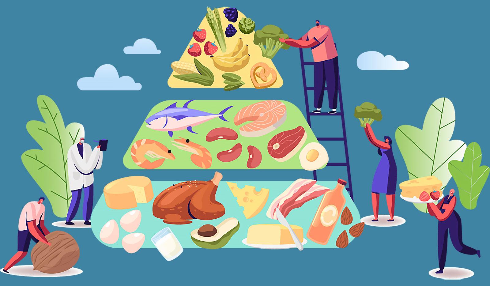 Диета для мужчин — меню для похудения по дням
