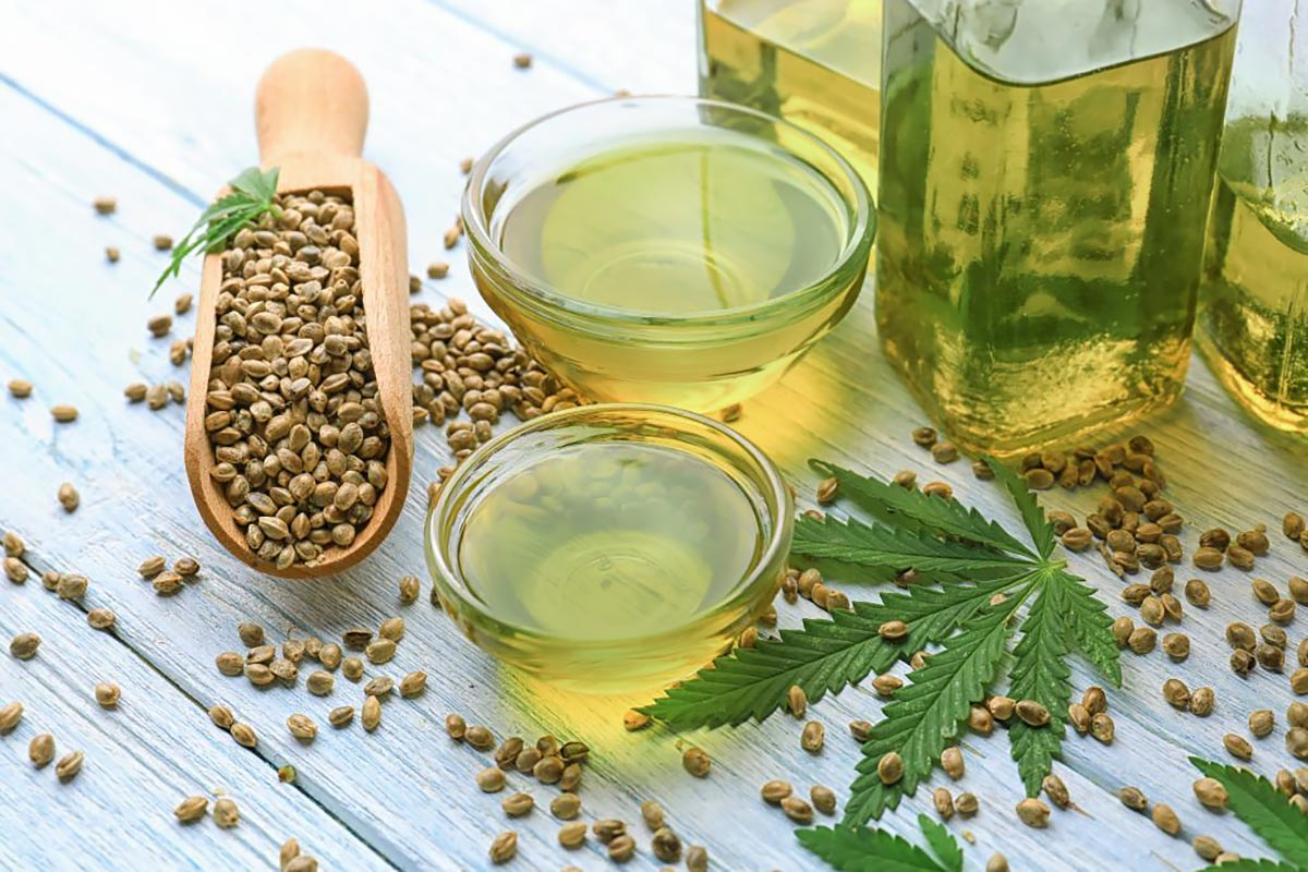 Полезные продукты —конопляное семя