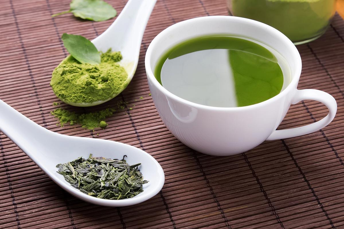 Полезные продукты —зеленый чай