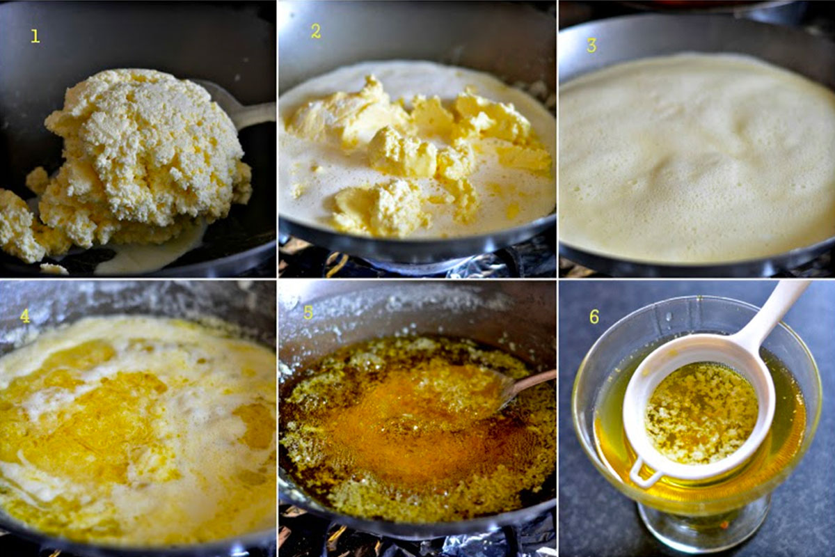 Как готовить масло гхи