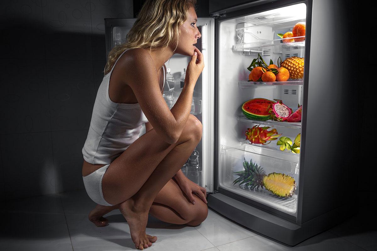 Подкожный жир и еда на ночь