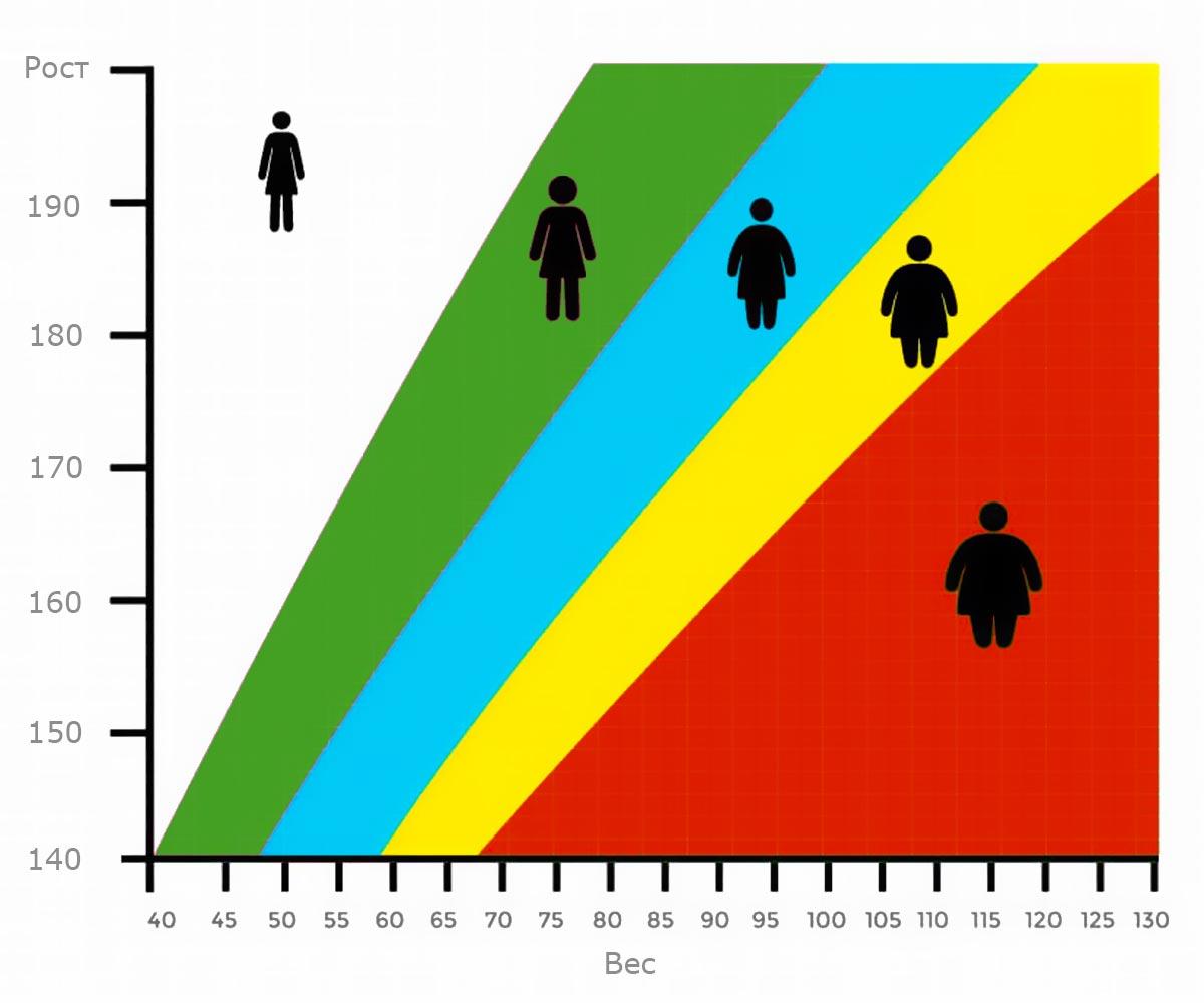 Что такое ИМТ? Таблица индексов массы тела