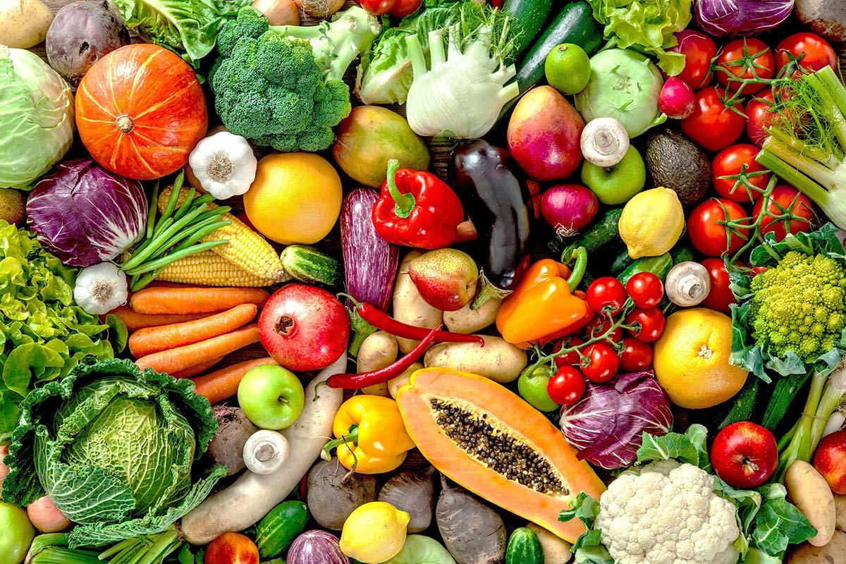 Продукты с клетчаткой —овощи