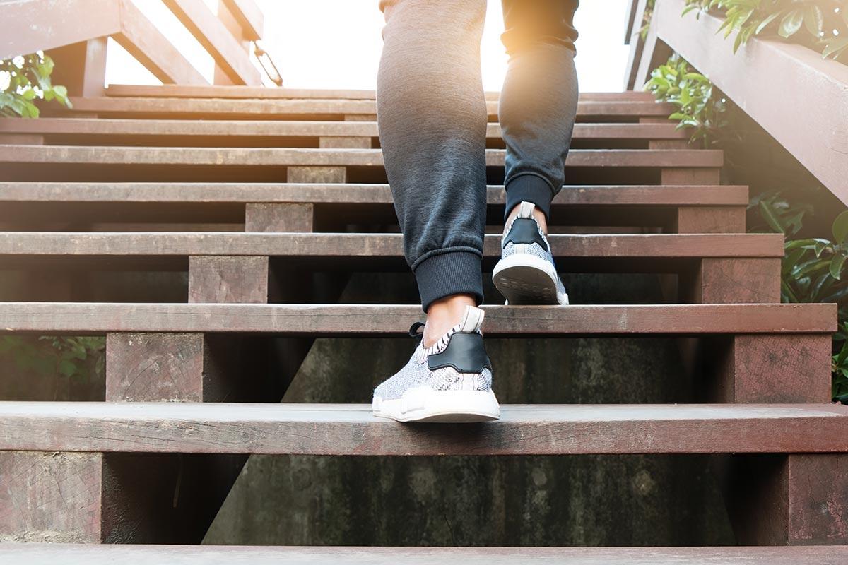 Сколько шагов в минуту делает человек