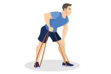 Упражнения со жгутами