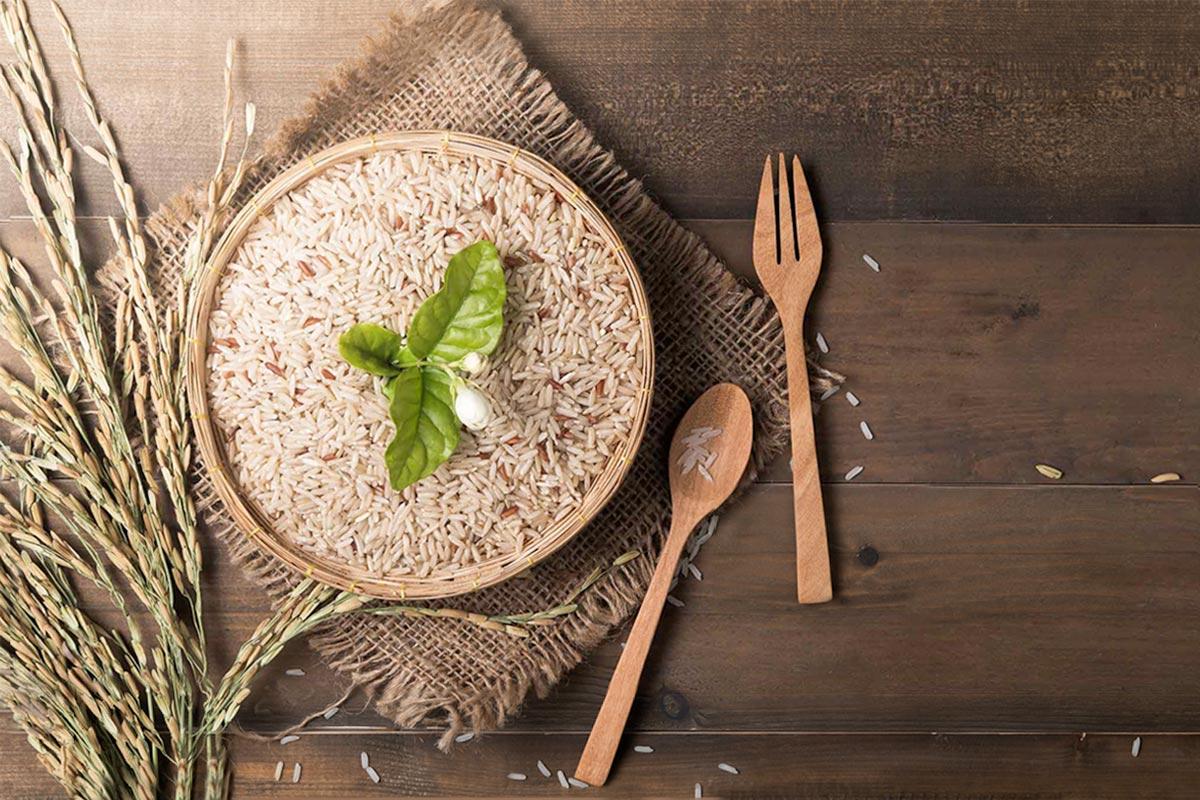 Бурый рис —состав и калорийность
