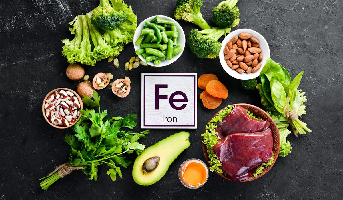 В каких продуктах содержится железо больше всего