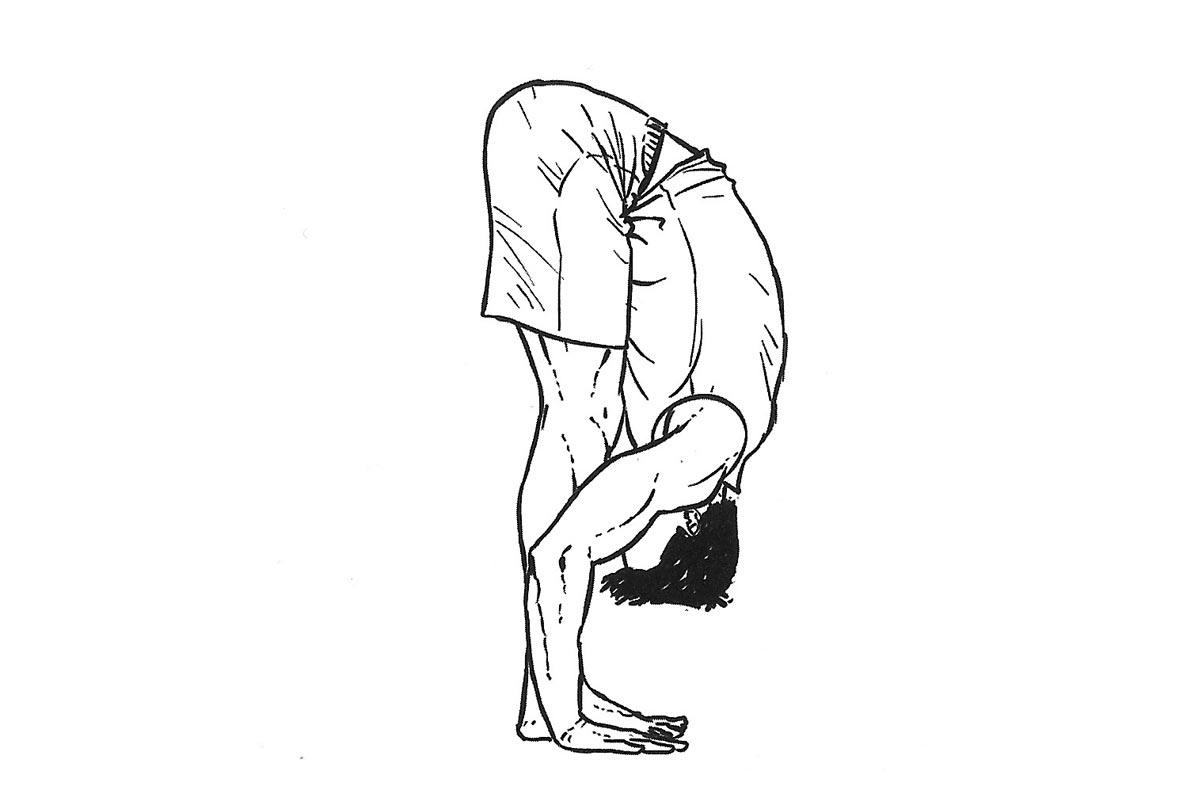 Методика Берга —ассана Утассана (сильный наклон вперед)