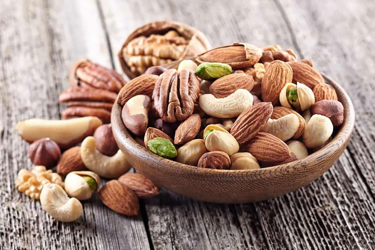 Растворимая клетчатка — орехи