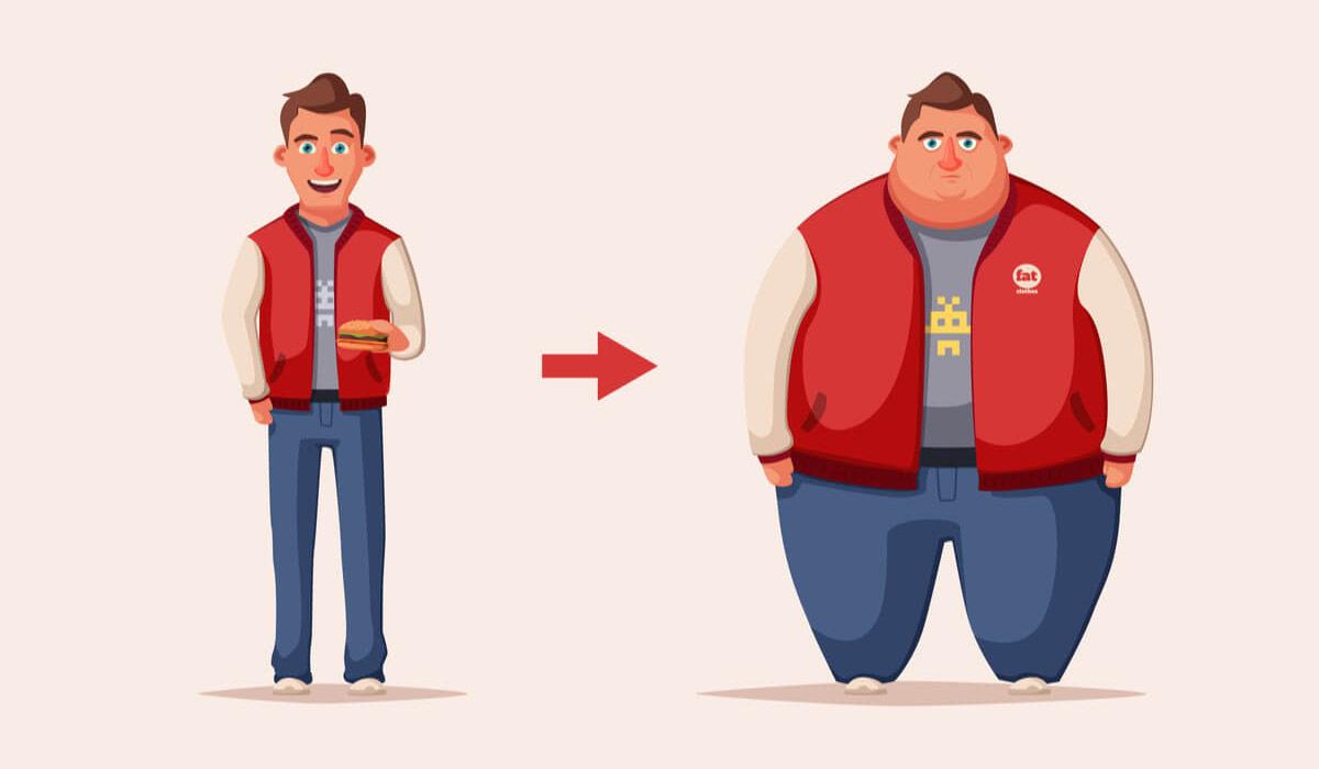 Резкий набор веса —причины и последствия