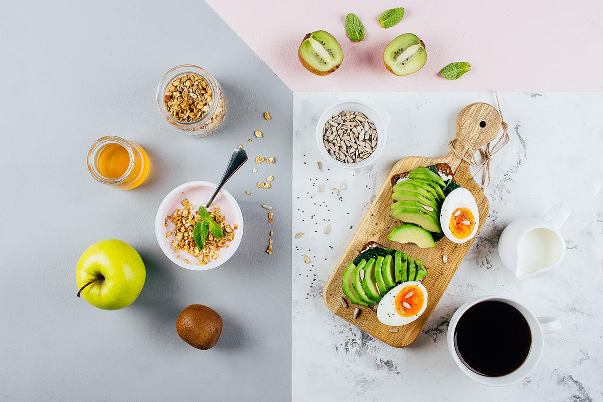 Диета, чтобы убрать живот —завтрак