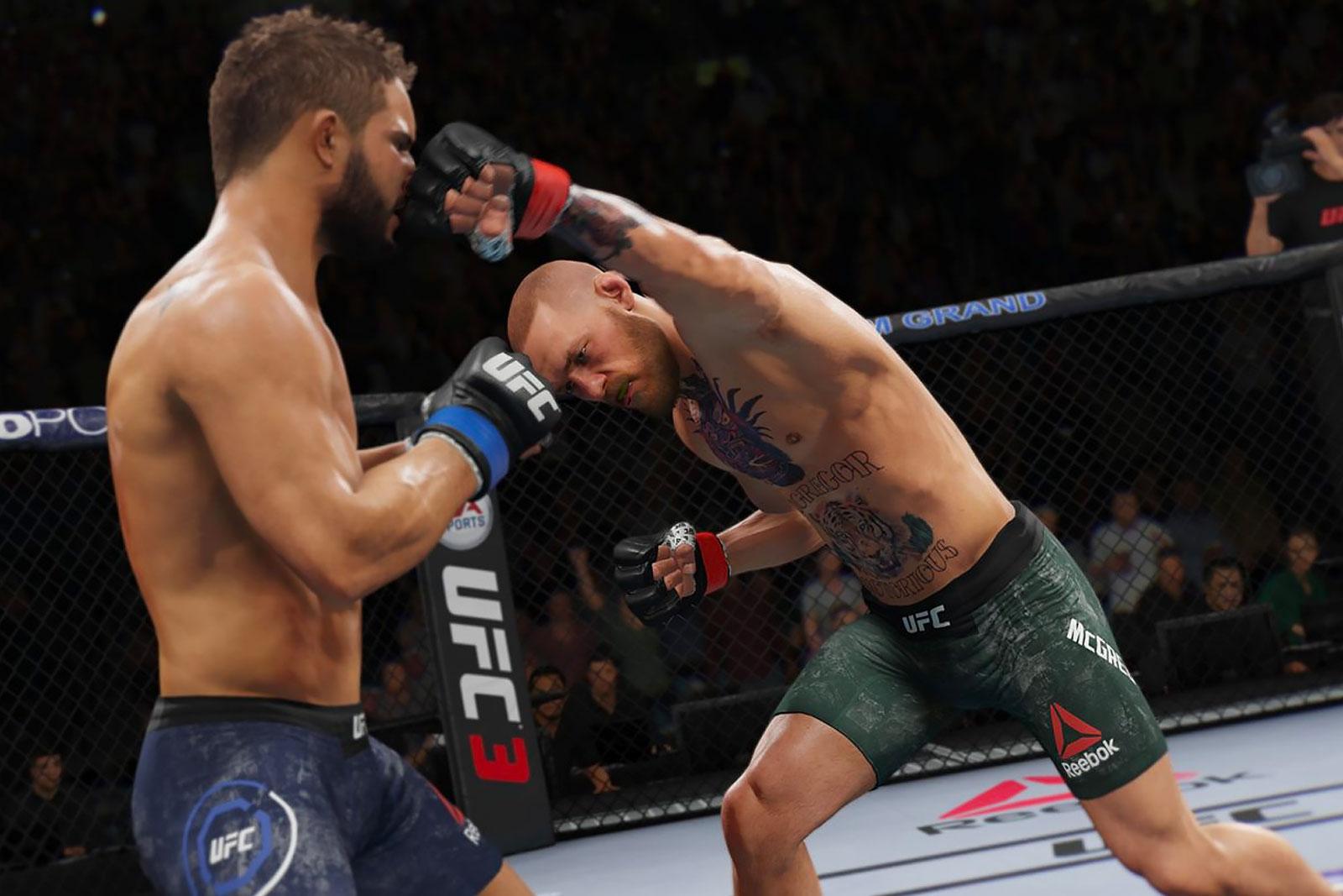 Макгрегор в EA Sports UFC3