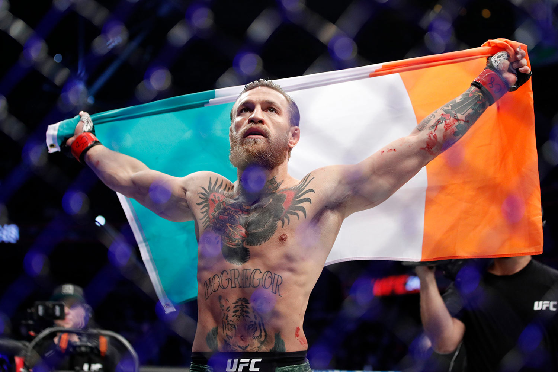 Макгрегор UFC246