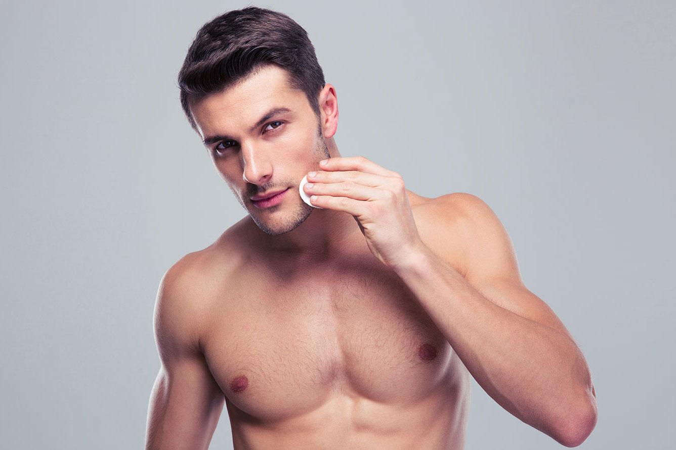 Правила ухода за кожей лица для мужчин