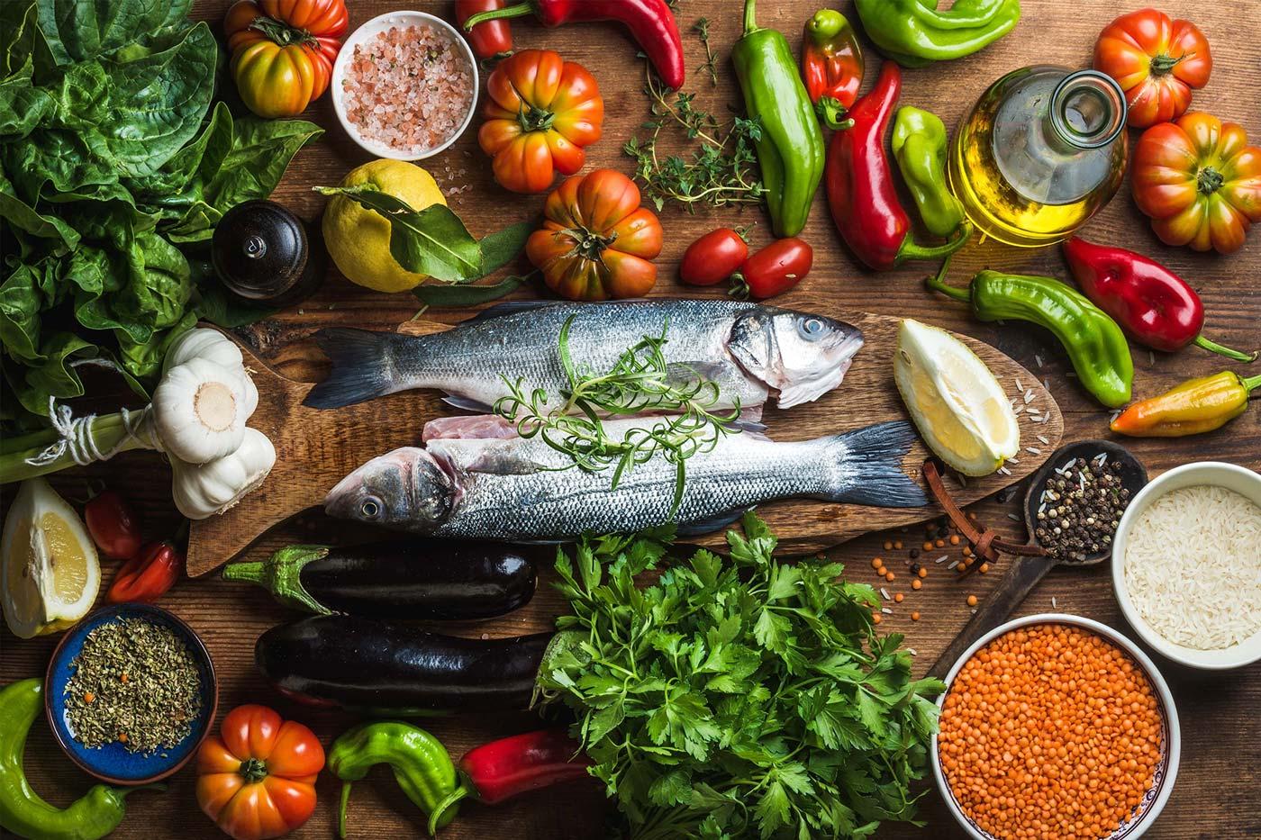 Средиземноморская диета — меню