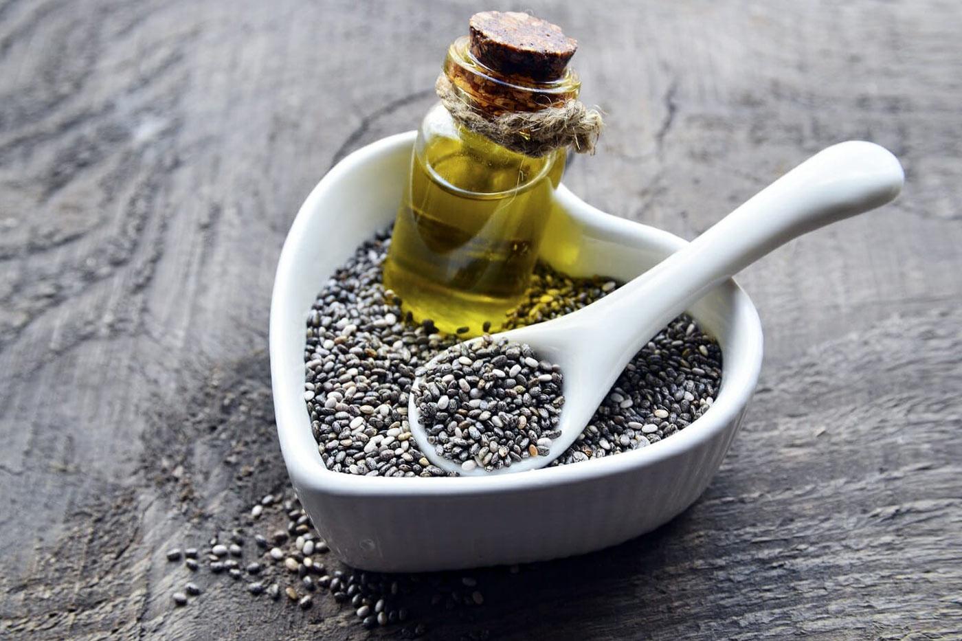 Масло из семян чиа —в чем польза?