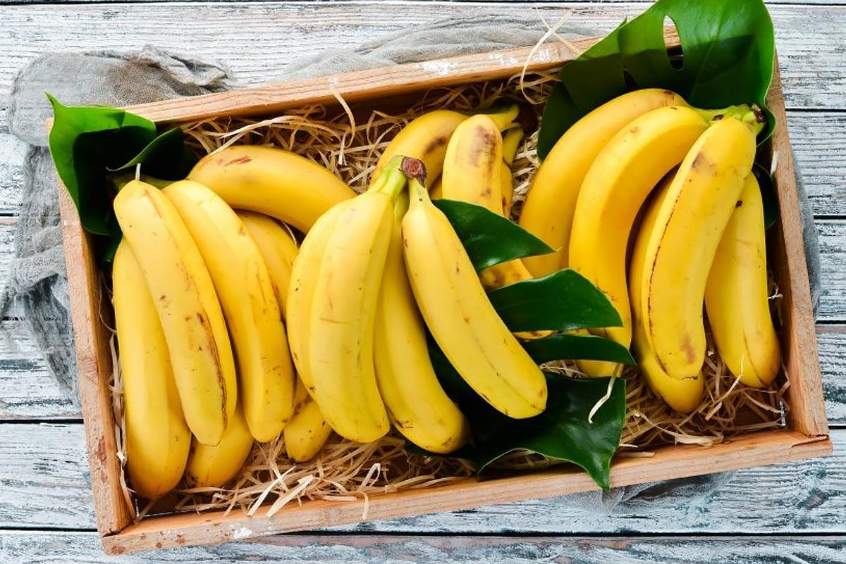 Продукты с магнием —бананы