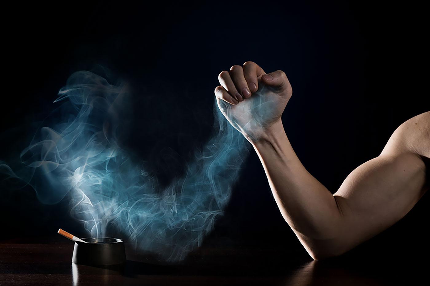 Бросить курить и худеть одновременно