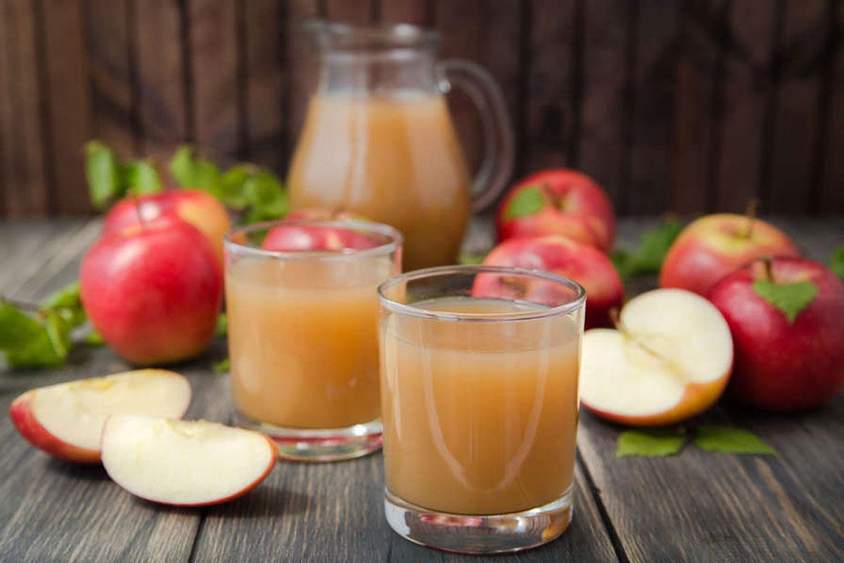 Гликемический индекс напитков —яблочный сок