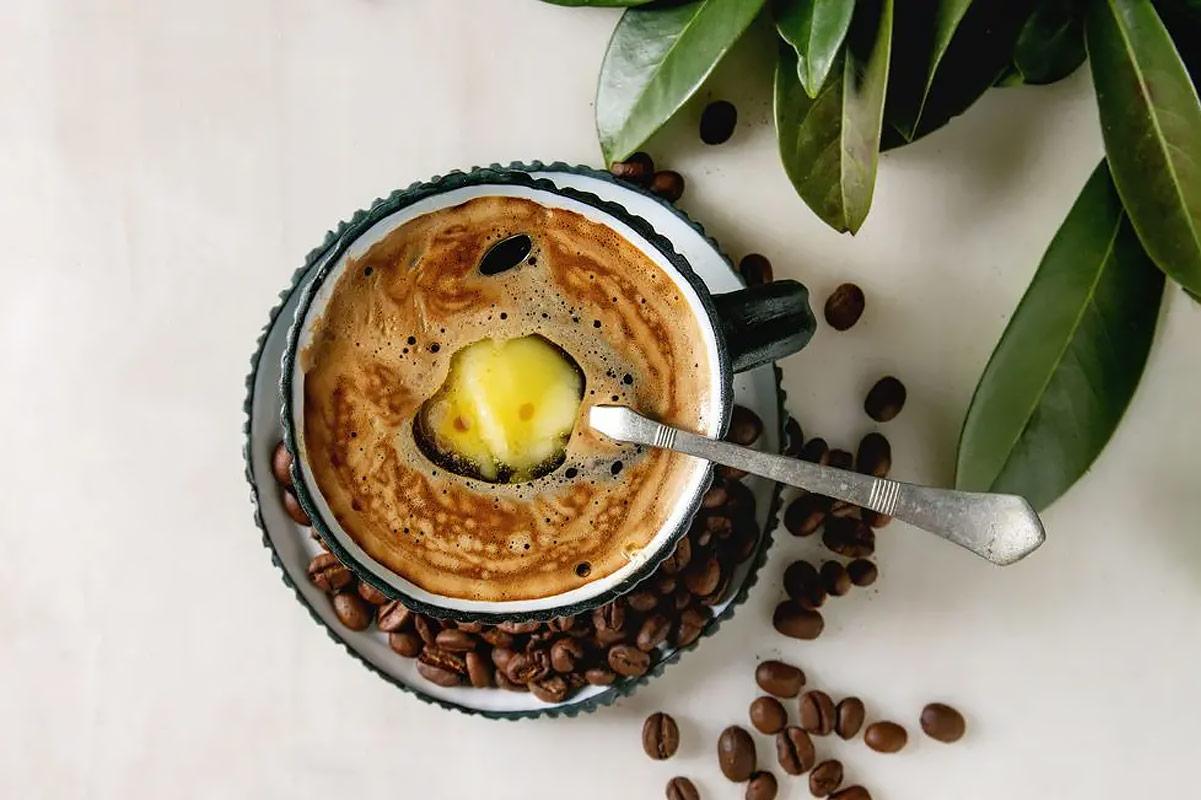Кето кофе с маслом