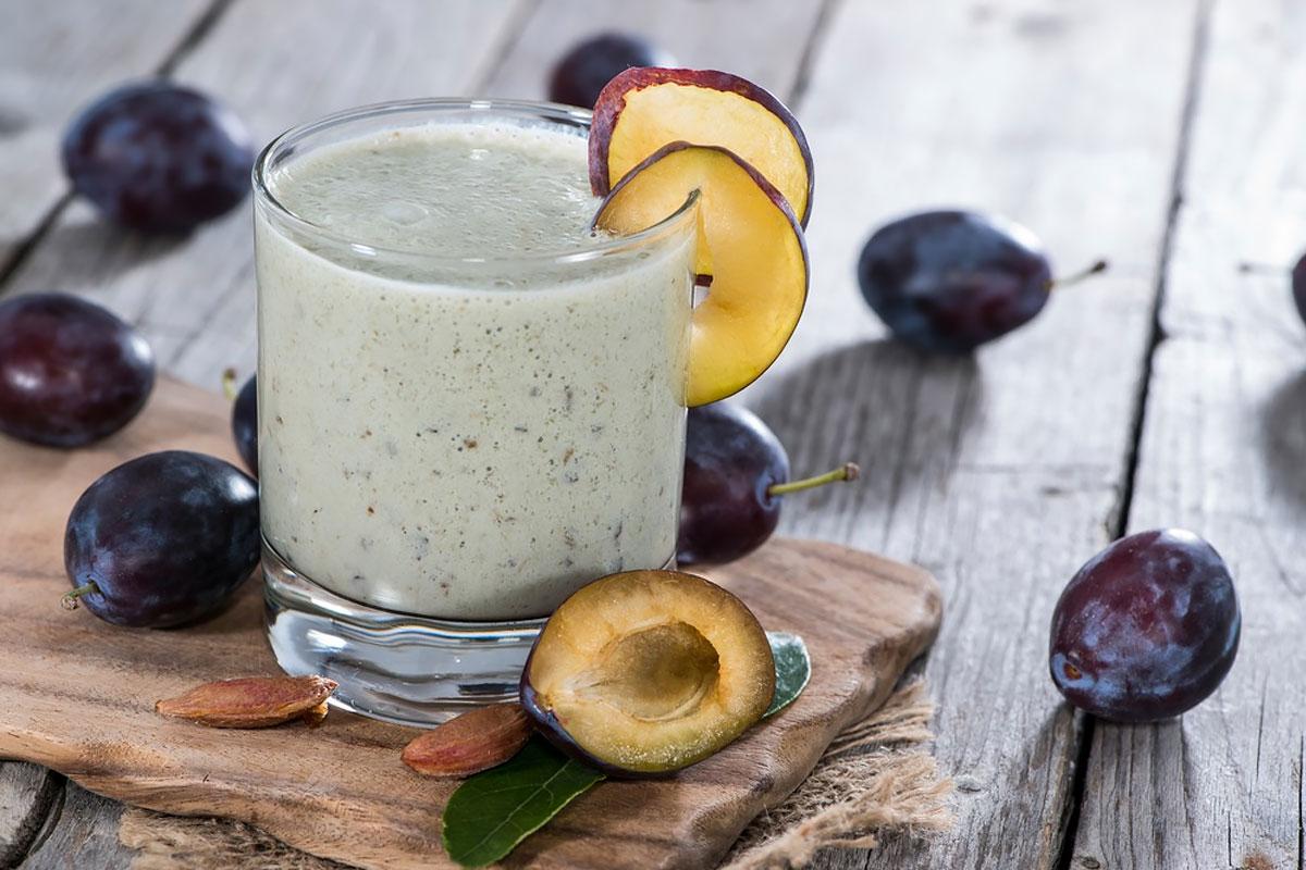 Завтрак для похудения —коктейль с черносливом
