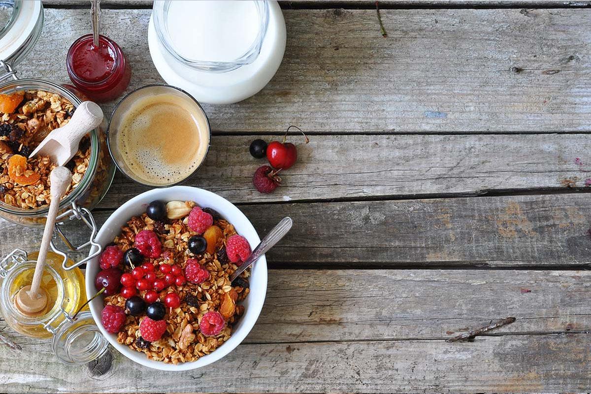 Завтрак для похудения —мюсли