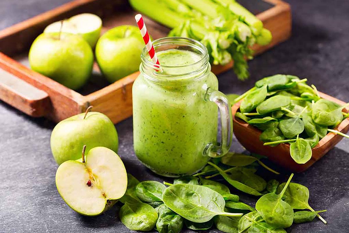Завтрак для похудения —сельдерей