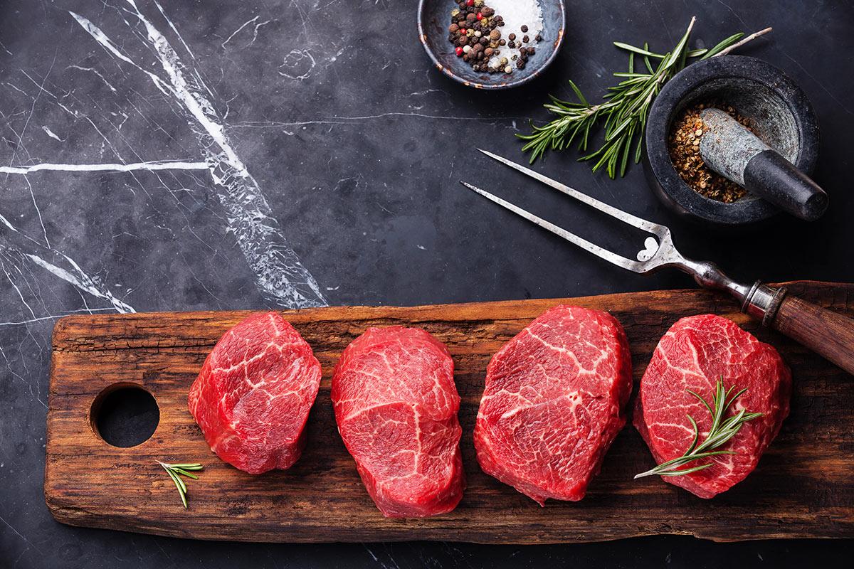 Продукты с цинком —говядина