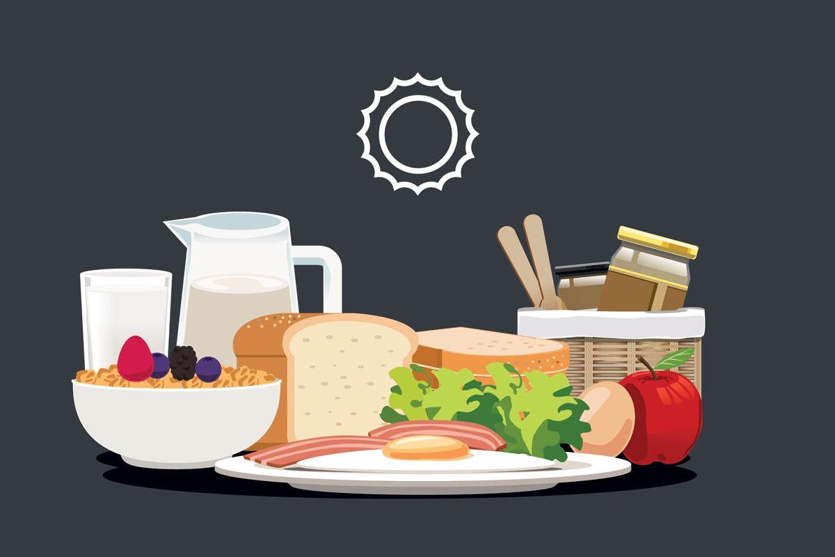 Калории на завтрак