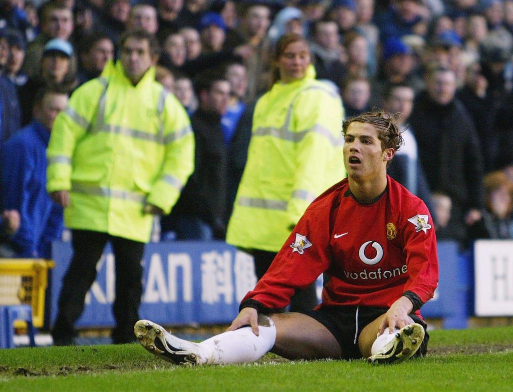 Роналду в 2004