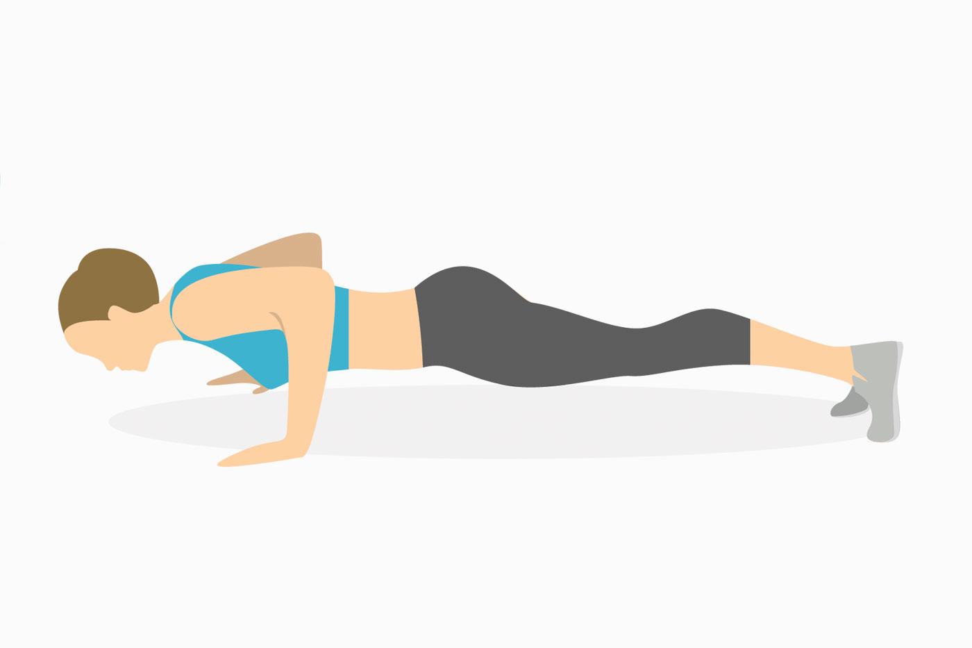 Упражнения для рук —отжимания