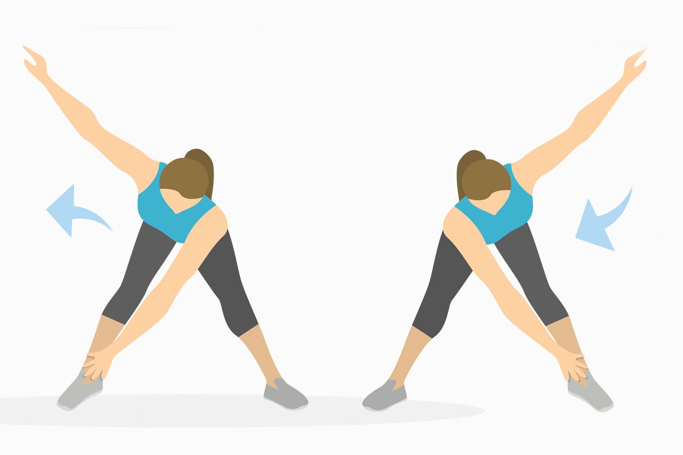 Упражнения для рук —мельница