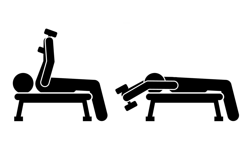 Упражнения на нижнюю часть грудных —пулловер