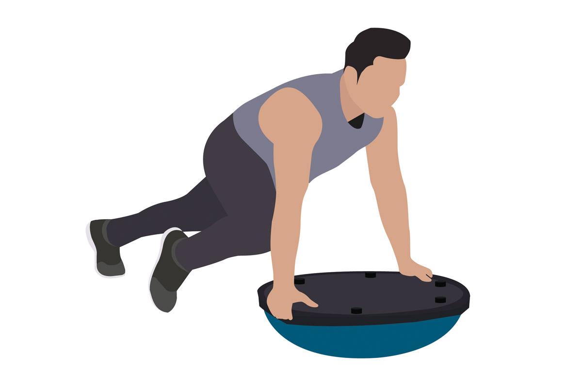 Функциональные упражнения —скалолаз