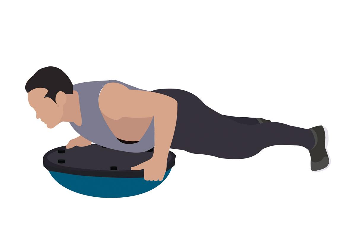 Функциональные упражнения —отжимания