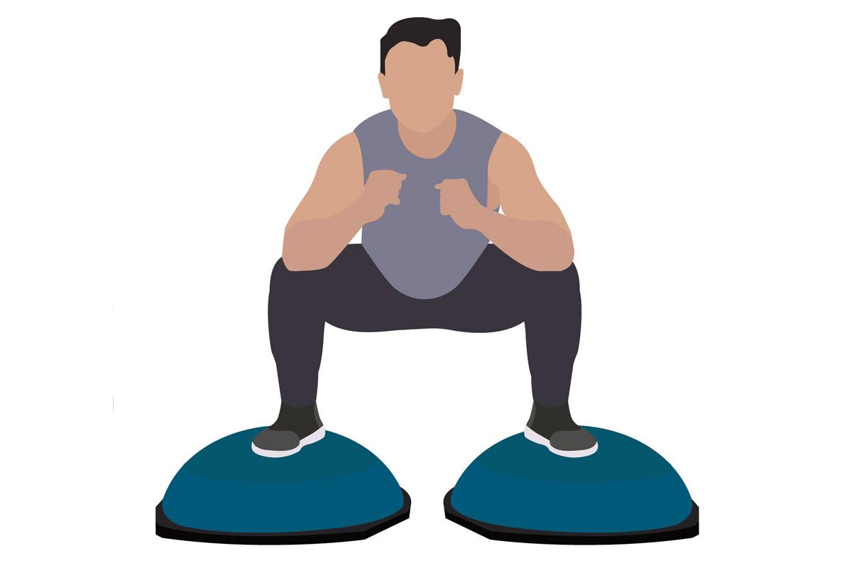 Функциональные упражнения —приседания сумо