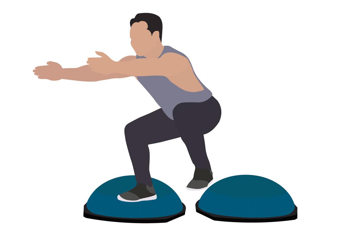 Функциональные упражнения —подъемы ноги