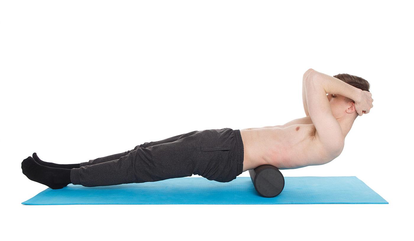 МФР упражнения —низ спины