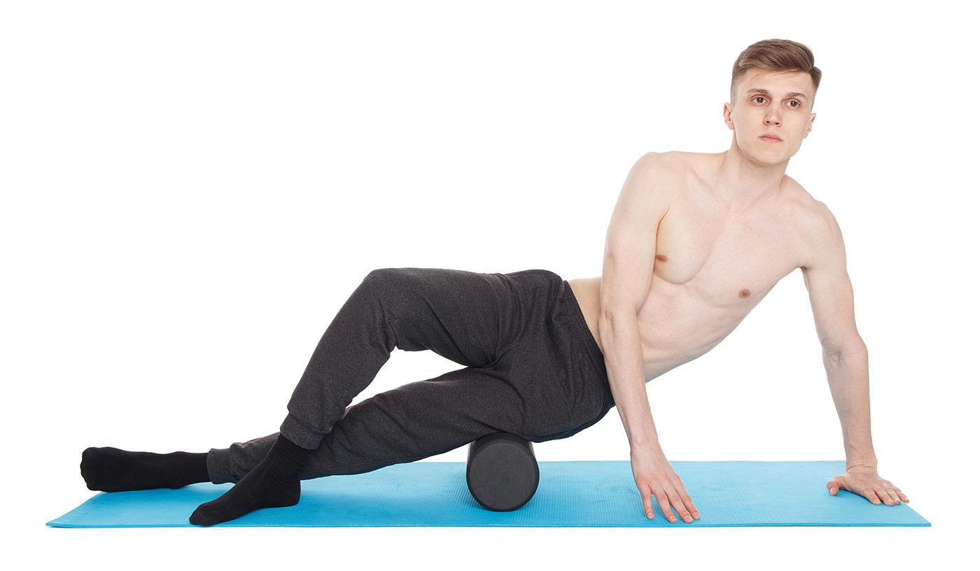 МФР упражнения —внешняя сторона бедра