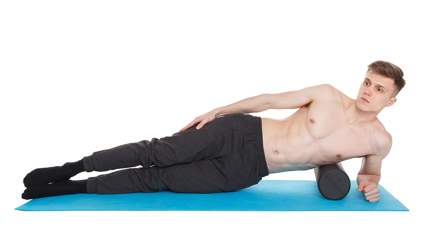 МФР упражнения —боковая часть спины
