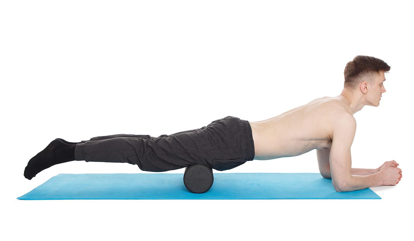 МФР упражнения —передняя поверхность бедер
