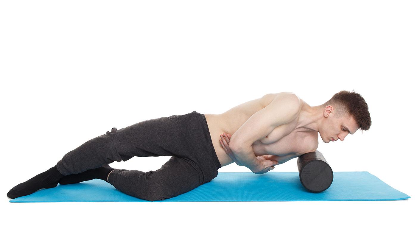 МФР упражнения —передняя поверхность плеча