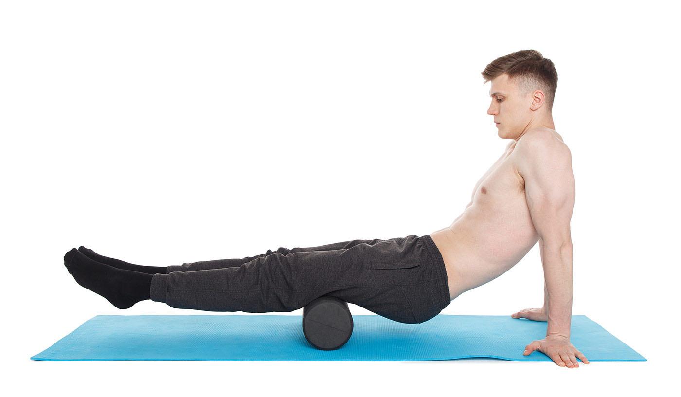 МФР упражнения —задняя поверхность бедер