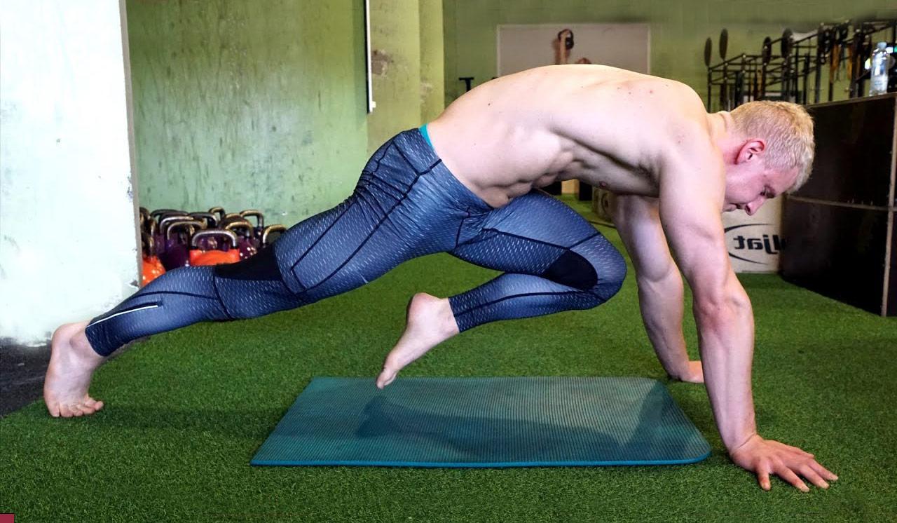 Упражнение скалолаз —как правильно делать?