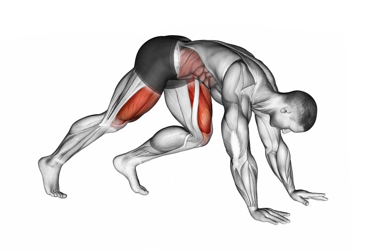 Упражнение Скалолаз —описание
