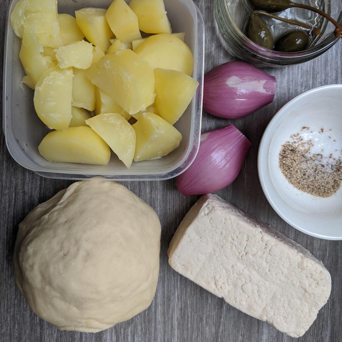 Вегетарианские вареники —рецепт