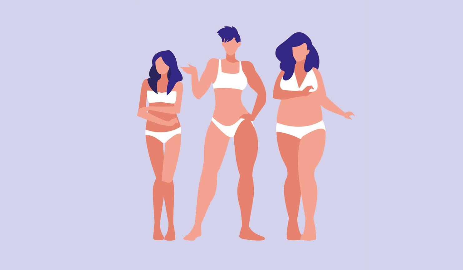 Типы телосложения женщин — как определить свой?