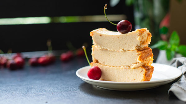 Рикотта в духовке —десерт для диабетиков