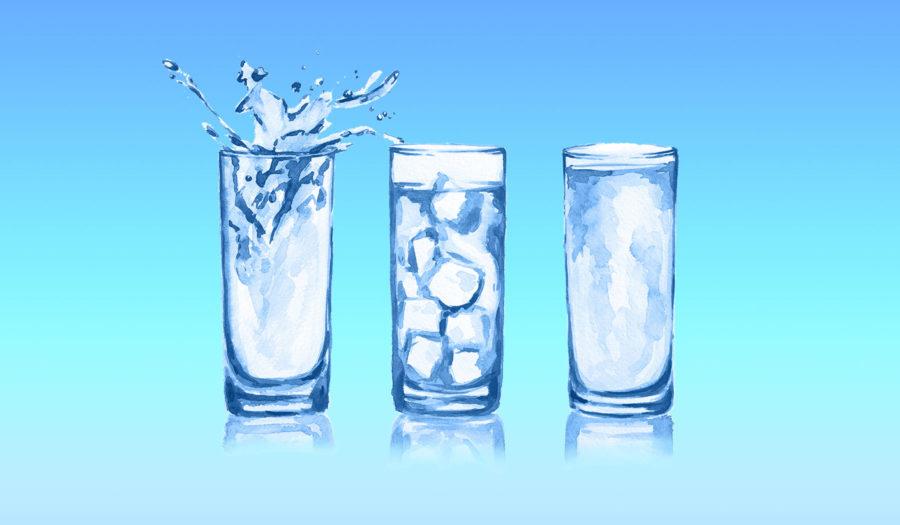 Сколько воды нужно пить —таблицы